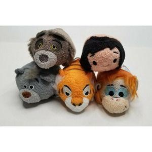 Disney Tsum Tsum  Jungle Book Lot 5 Mowgli Plush